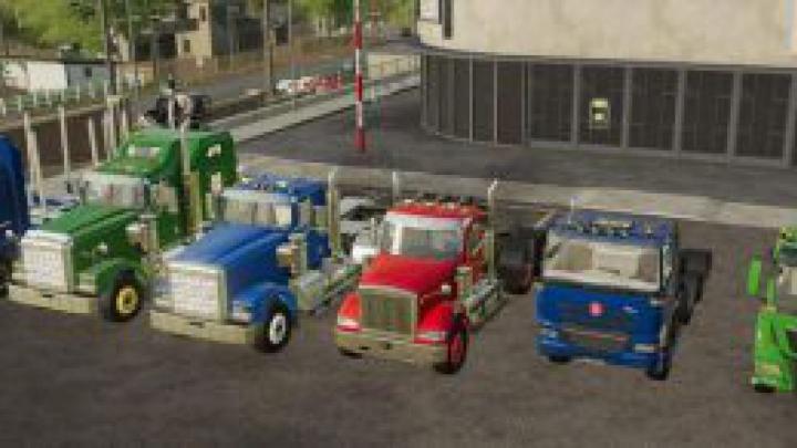 Trending mods today: FS19 Truck Pack OY mp v19.8