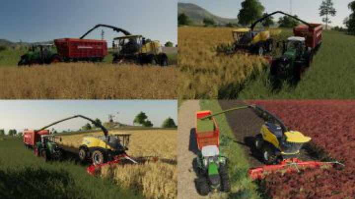 Trending mods today: FS19 Multi Harvest Headers v1.0.0.0