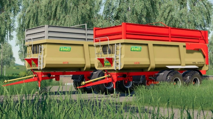 Trending mods today: FS19 Leboulch Gold 2 XXL Trailers Pack