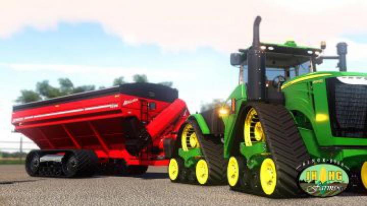 trailers FS19 Brent Avalanche 1596 Grain Carts v2.0.0.0