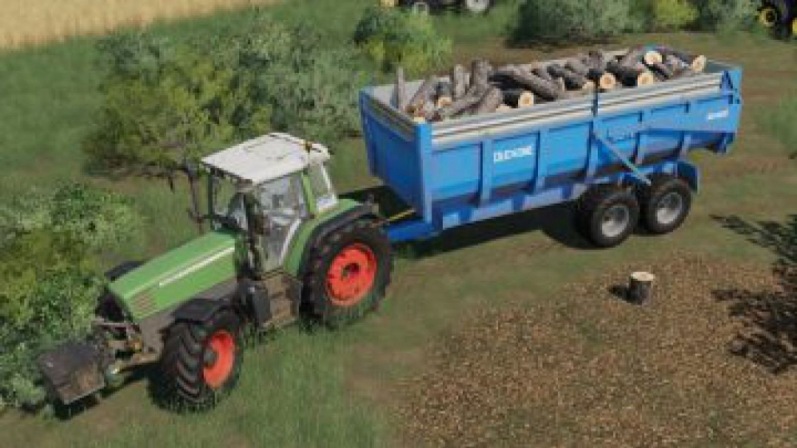 Trending mods today: FS19 Duchesne Trailer 16T v1.0.0.0