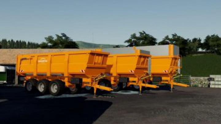 trailers FS19 Dangreville B One 32 B v1.0.0.0