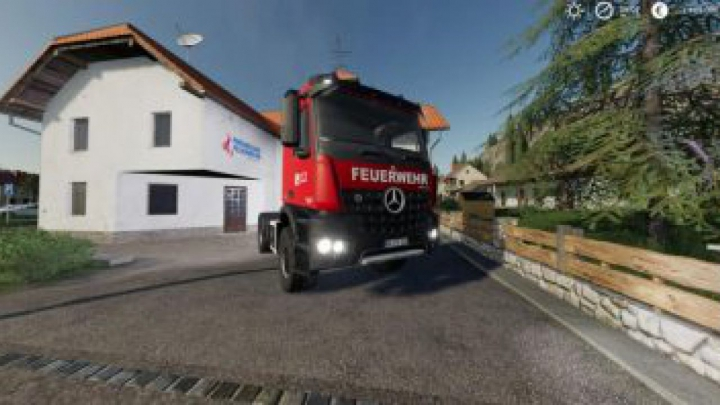 Trending mods today: FS19 Mercedes Benz Fire Department Edition v1.1