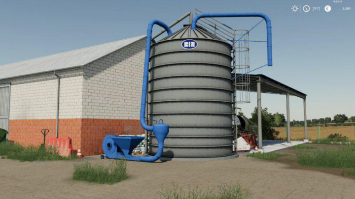 Trending mods today: FS19 Silos Bin v1.0.0.0