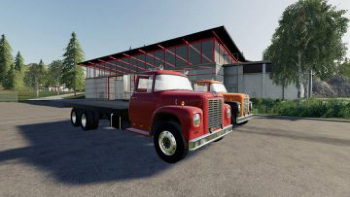 Trending mods today: FS19 Loadstar F1800 Flatbed v1.0.0.0