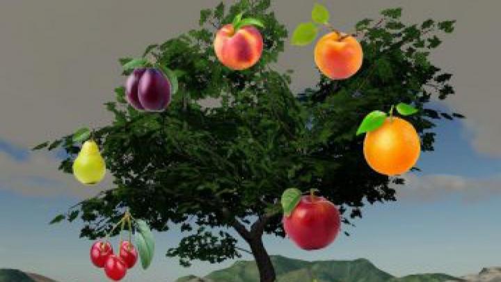 Trending mods today: FS19 Fruits Trees v1.0.0.0