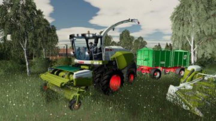 Trending mods today: FS19 Claas Jaguar 800 Packet v1.2.0.0