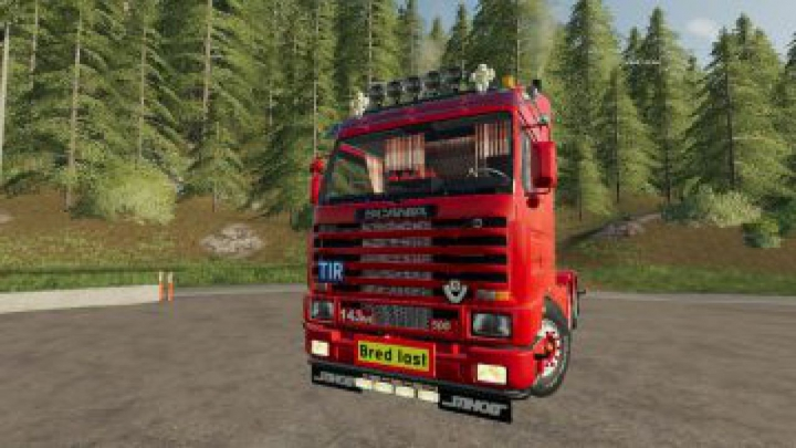 Trending mods today: FS19 Scania 143 6×4 Swedish Edit v1.0