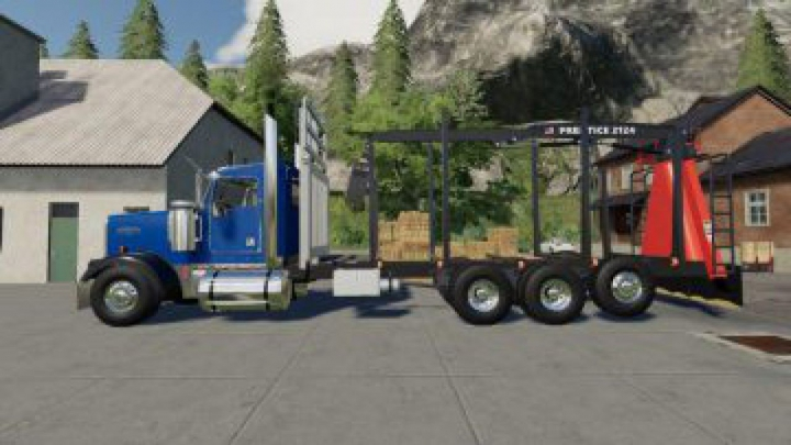 Trending mods today: FS19 D3 Kenworth W900 Rear Mounted v1.0.0.2