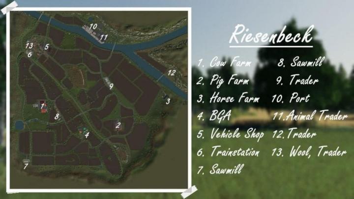 Trending mods today: FS19 AutoDrive for Riesenbeck Map v1.0