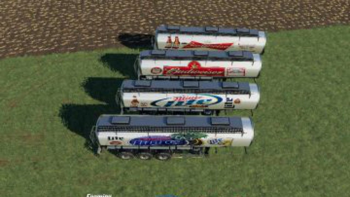 Trending mods today: FS19 Pack Trailer Beer US v1.0.0.8