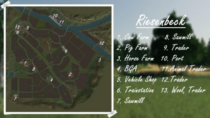 Trending mods today: FS19 AUTODRIVE FOR RIESENBECK Map v1.02
