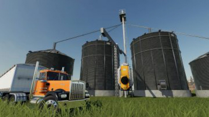 Trending mods today: FS19 US grain silo complex with dryer v1.1