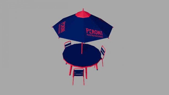 Trending mods today: FS19 TABLE PERONI v1.0