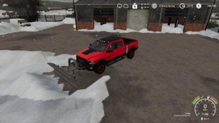 Trending mods today: FS19 Dodge Power Wagon plow v1.0