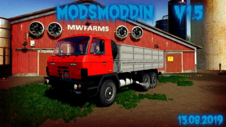 Trending mods today: FS19 TATRA 815 AGRO & MODULES v1.5