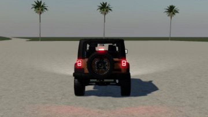 Trending mods today: FS19 Jeep Rubicon v1.0