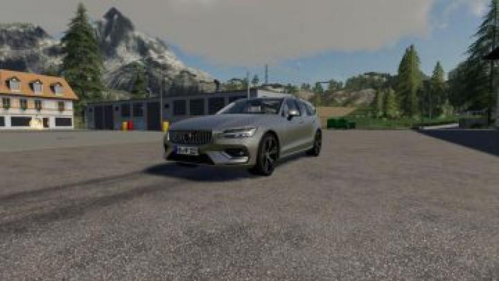 FS19 Volvo V60 v1.2.0.0 category: cars