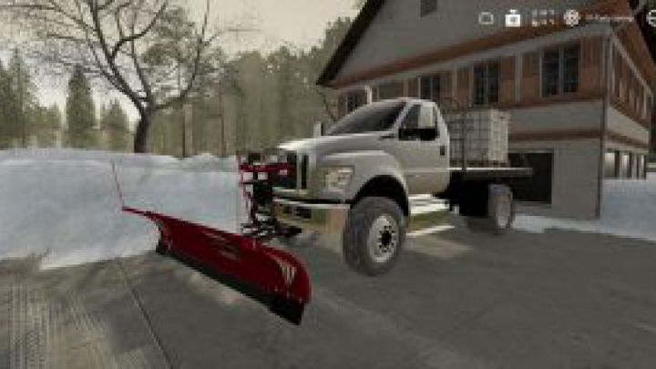 Trending mods today: FS19 Ford F750 Flatbed Plow Truck v1.0