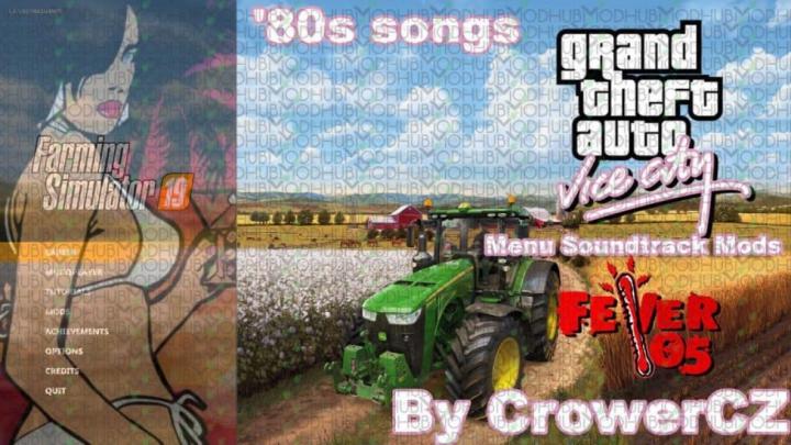 Trending mods today: FS19 GTA Vice City Music Soundtrack in menu v1.0