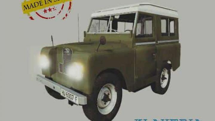 FS19 Land rover santana 88 v1.0.0.0 category: cars