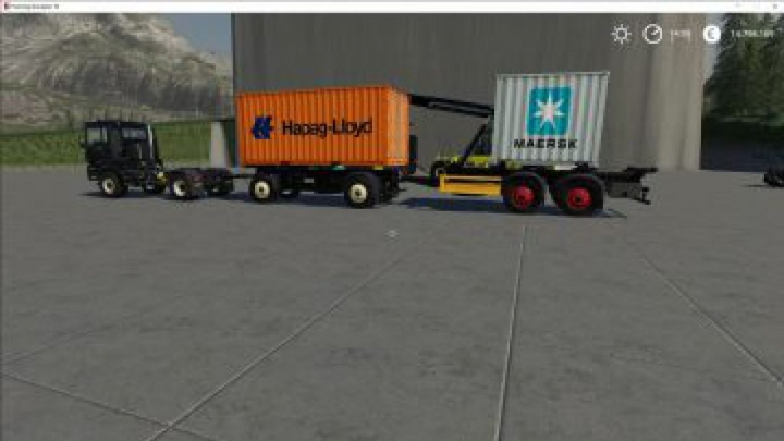 Trending mods today: FS19 ATC Container Transportation Pack v2.0.0.1