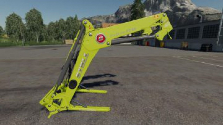 Trending mods today: FS19 Stoll FZ 60 Claas green v1.0
