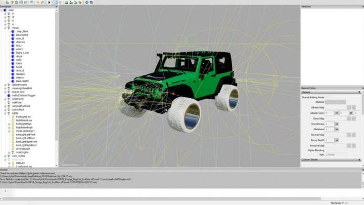 FS19 Jeep big wheels v1.1.0.0 category: cars