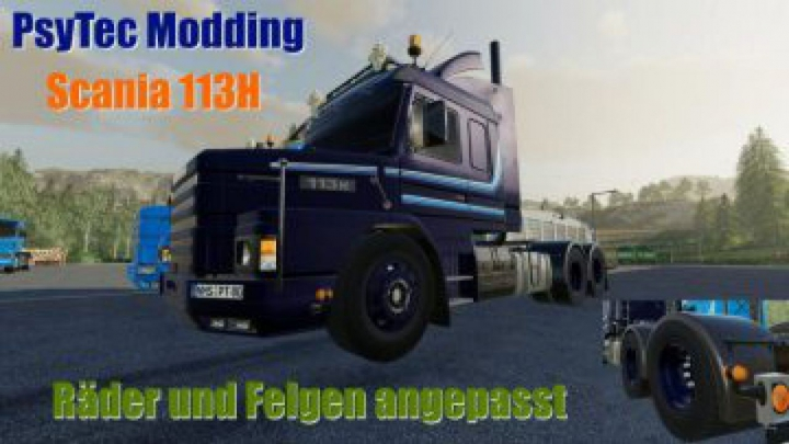 Trending mods today: FS19 Scania 113H Tuning v0.1.5