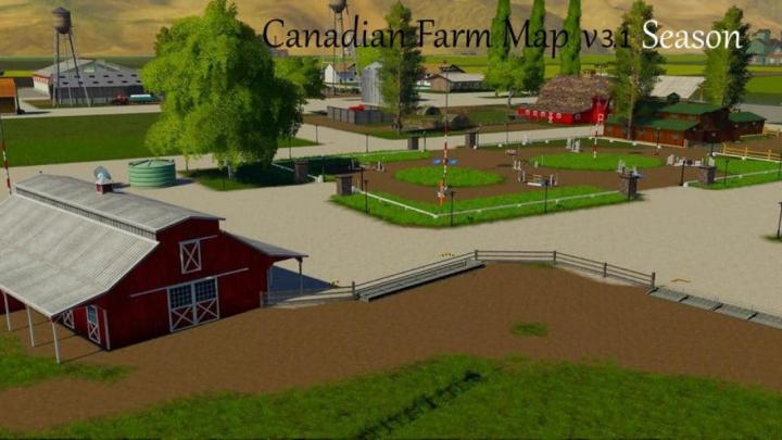 Trending mods today: FS19 Canadian Farm Map v3.1