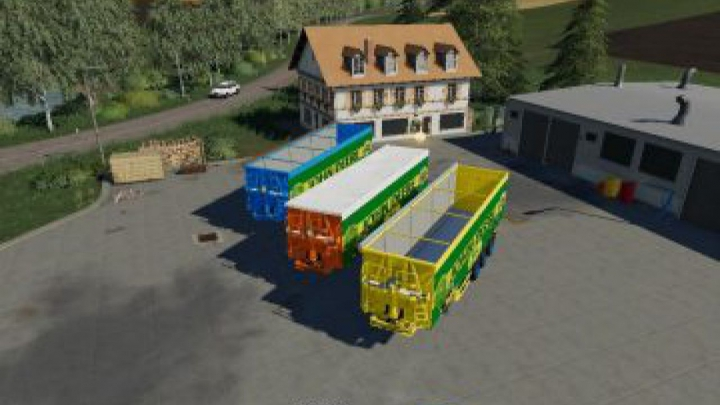 Trending mods today: FS19 Pack Trailer John Deere v1.0