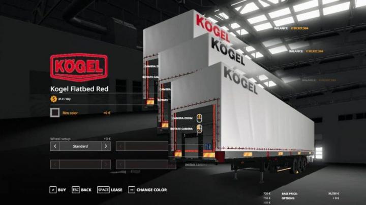Trending mods today: FS19 Kogel Autoloader Pack 3 Colors Logo v1.0
