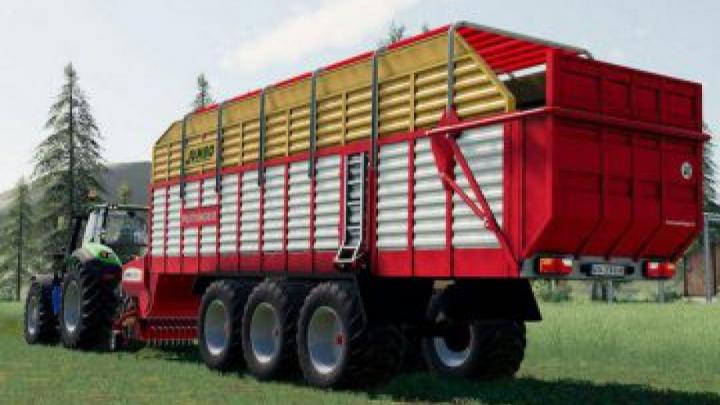 trailers FS19 Pottinger Jumbo Loading Wagon (43000 Liters) v1.0.0.0