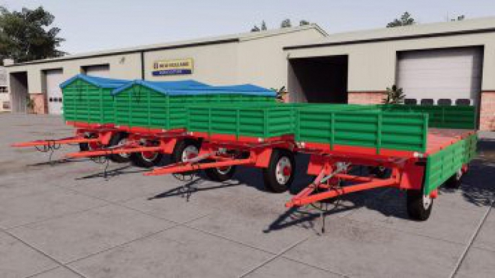 Trending mods today: FS19 AutoSan D50 and D55 Pack v1.1.0.0