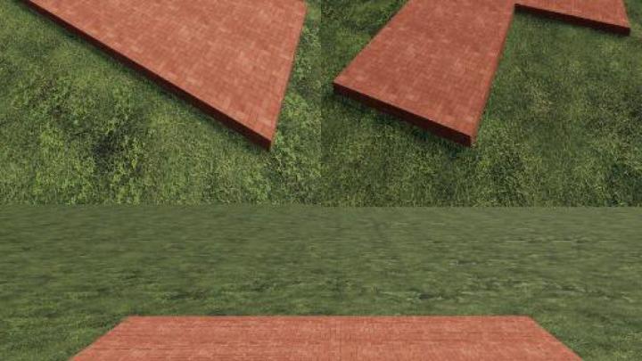 Trending mods today: FS19 Red Placeable Slabs v1.0