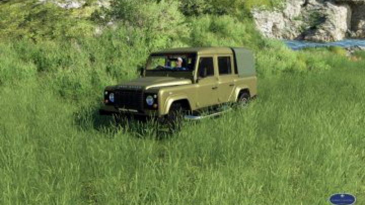 Trending mods today: FS19 Land Rover Defender 110 v1.0