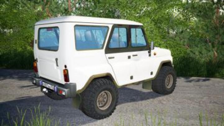 cars FS19 UAZ HUNTER V1.1