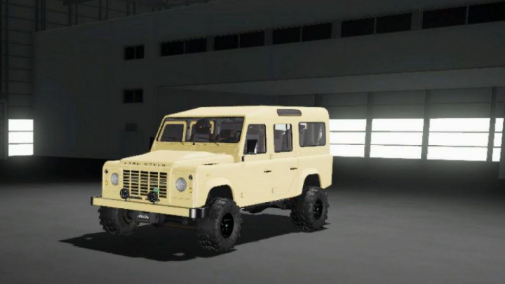 Trending mods today: FS19 Land rover defender 110 station wagon 2011 v1.0