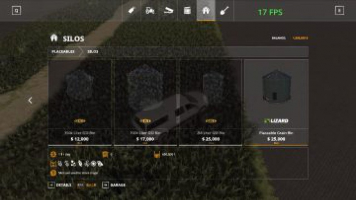 Trending mods today: FS19 GSi grain bins pack v1.0