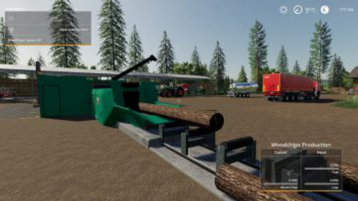 Trending mods today: FS19 Placeable Jenz Global Company Wood Chipper