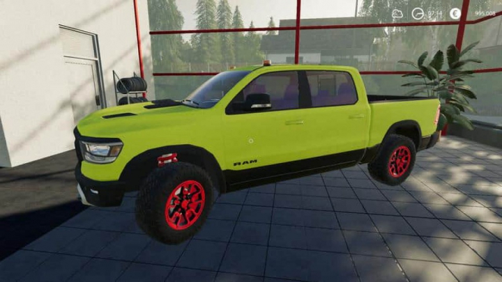 Trending mods today: FS19 Dodge Ram Nerd MP v1.0