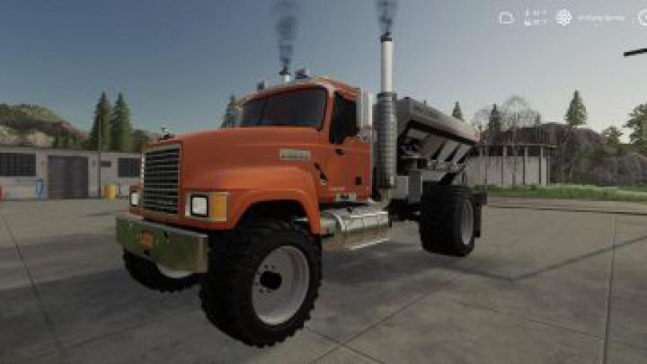 Trending mods today: FS19 Mack Pinnacle Spreader Truck v1.0