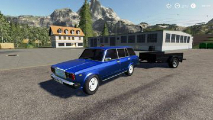 Trending mods today: FS19 VAZ 2104 AND TRAILER v2.0