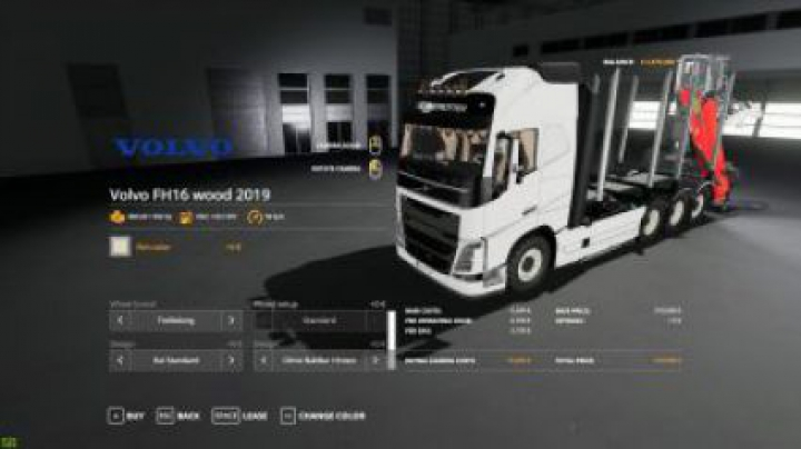 Trending mods today: FS19 Volvo FH16 Forest Truck v1.1.0