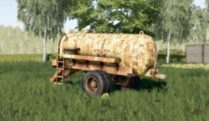trailers FS19 MV5 Old Water Trailer v1.0.0.0