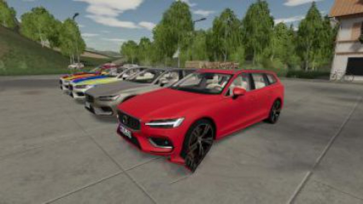 cars FS19 Volvo V60 Car v1.2.2