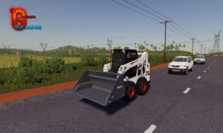 forklifts / excavators FS19 Bobcat 590 Series v1.0