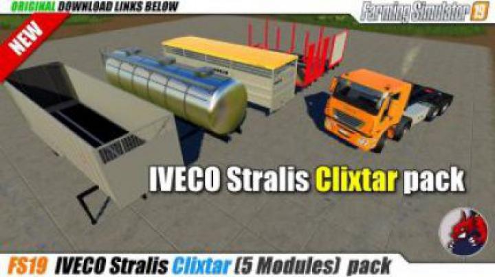 Trending mods today: FS19 Clixtar Pack v19.1.0.2