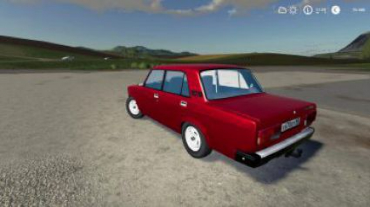 cars FS19 VAZ 2107 v1.0