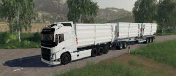 trucks FS19 Volvo FH16 2019 HKL v1.3